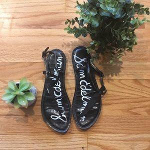 Sam Edelman Gigi sandals black leather 9m
